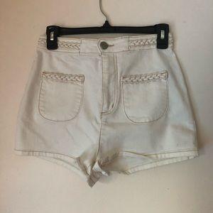 High waisted BDG shorts